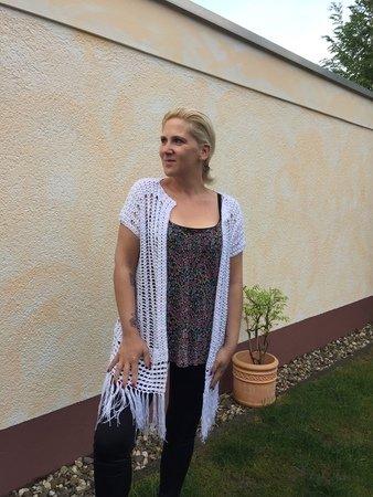 Damen-Weste häkeln / extra lang und stylish