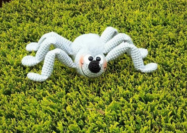 Gratis Spinne Häkeln Sehr Freundliche Deko