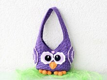 "Crochet Pattern: children´s bag ""Owl"""