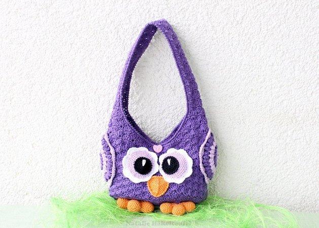 Crochet Pattern Childrens Bag Owl