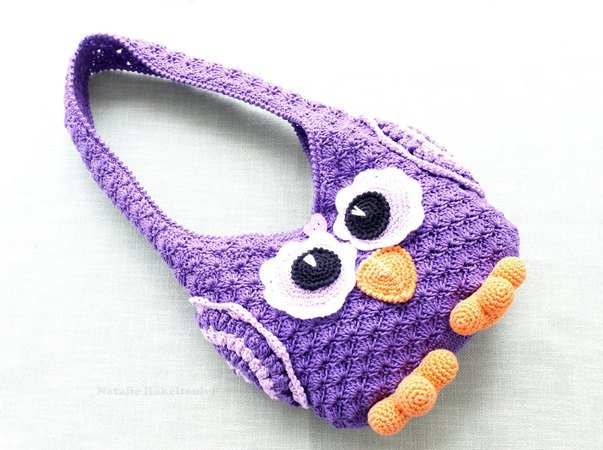 Crochet Pattern Childrens Bag Owl