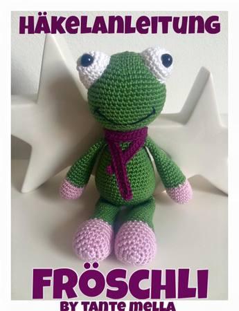 Gratis Frosch Häkeln Auch Für Anfänger