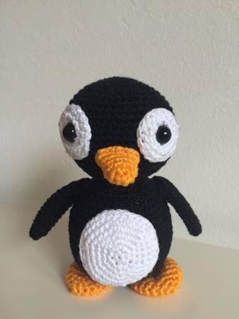 Gratis Pinguin Häkeln Freundlicher Pinguin