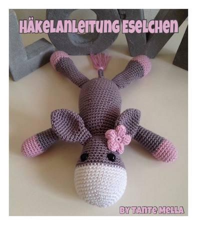 Gratis Esel Häkeln Ca 20cm Großamigurumi