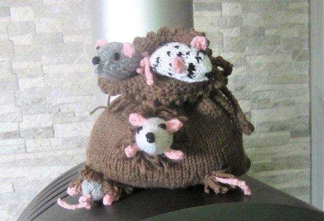 Strickanleitung Für Den Sack Voller Mäuse Geldgeschenkidee Zum