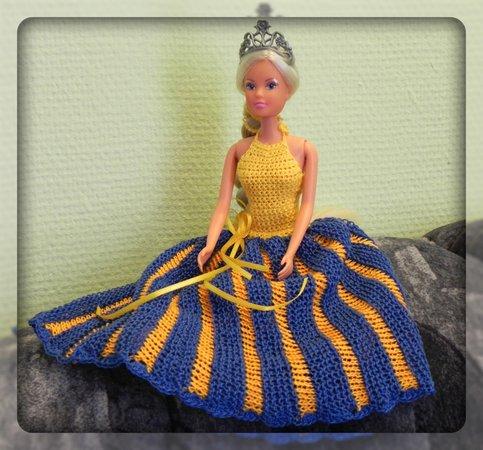 Barbie Neckholder Kleid Strick Und Häkelanleitung
