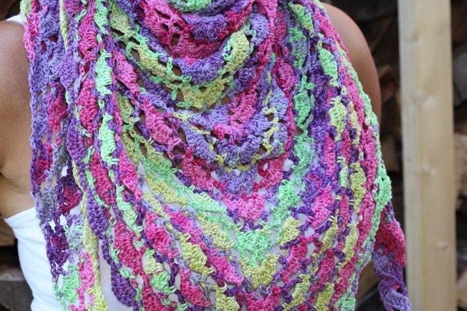 Crochet Pattern For A Triangular Cloth Bahamas