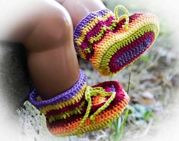 Babyschuhe Häkeln Häkelanleitung Baby Schuhe