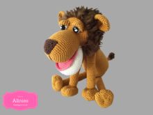 Lion Amigurumi Dutch, Deutsch and English US-terms