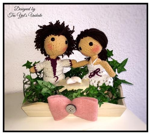 Brautpaar Hochzeitsgeschenk Puppen Hochzeitspaar