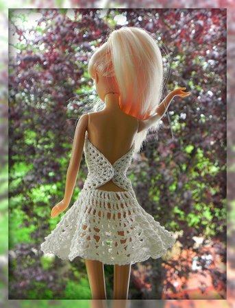 E-Book Häkelanleitung Barbie Kleid \