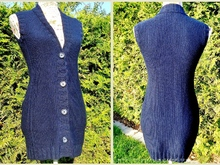 Knitting Pattern for a sleeveless vest | Vest *très chic*