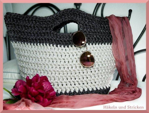 Tasche Häkeln Einfach Für Anfänger Sommertasche