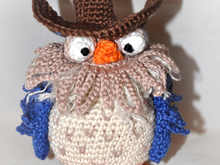 Mr.Owl - Eule - Angry Birds