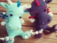 Haekelicious Dragon Pattern