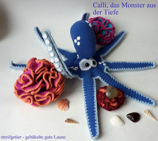 Krake Häkeln Octopus Häkeln Diy Deko