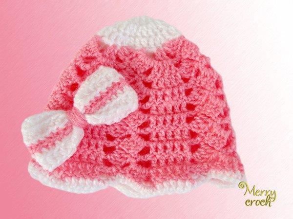 Häkelanleitung Babymütze, Neugeborenenmütze, Neugeborenes Geschenk ...