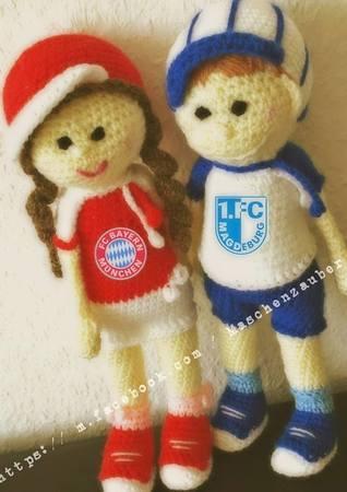 Fussballjunge Maskottchen Fußball Zb Bvb Fc Bayern München 1