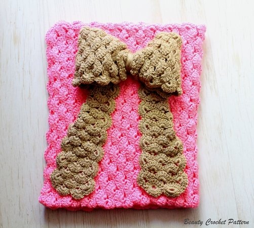 Bow Baby Blanket