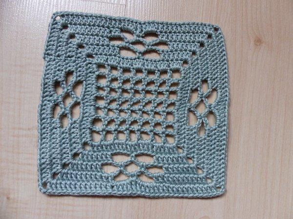 Granny häkeln / Gitter-Muster häkeln