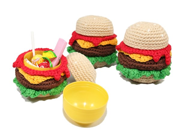 Burger Surprise - Crochet Pattern