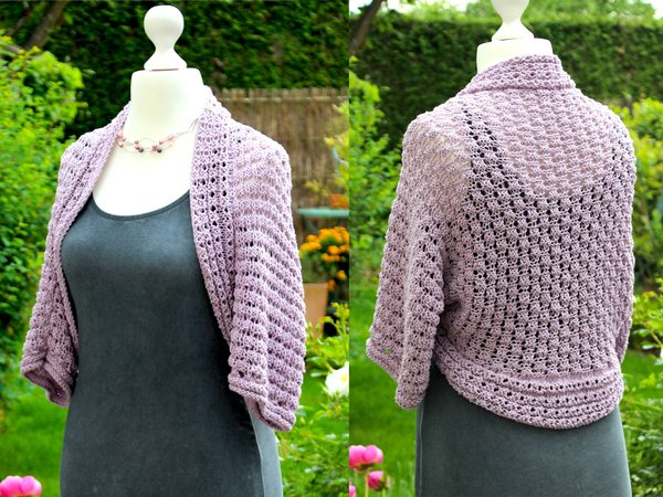 Bolero Stricken Kurzjacke Shrug Stricken