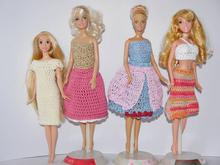 Barbiekleider Individuelle Handarbeit Anleitungen Und E Books Auf