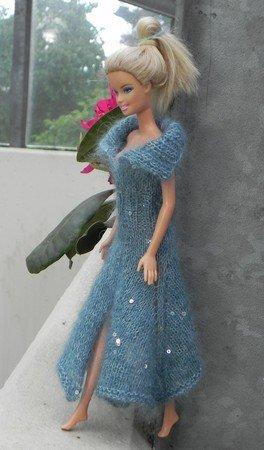 E Book Strickanleitung Für Ein Barbiekleid Mit Zipfelsaum