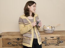 Clara - striped cardigan