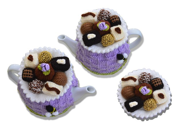 Chocolate Box Tea Cozy