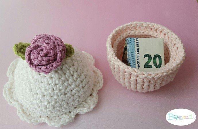 Häkelanleitung cupcake, Geburtstag, Utensilo uvm schnell und einfach ...
