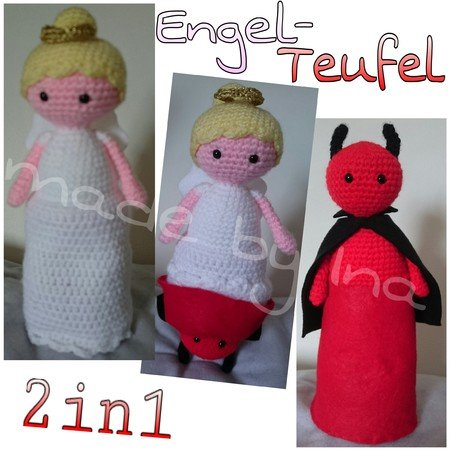 2in1 Engel-Teufel - made by Ina