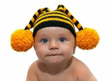 Striped hat for kids