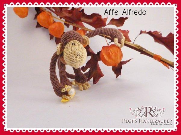 Häkelanleitung Affe Alfredo