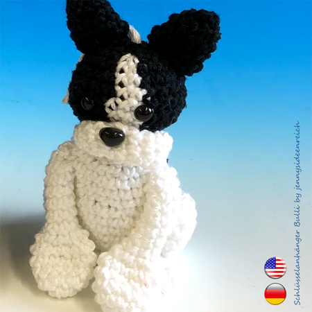 Amigurumi for Beginners Amigurumi Keychain Dog Making lık ... | 450x450