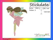 "Stickdatei ""Fee"" Pes Format (Deco, Brother, Babylock)"