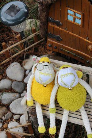 Cuddly sheep amigurumi pattern - Amigurumipatterns.net   450x300