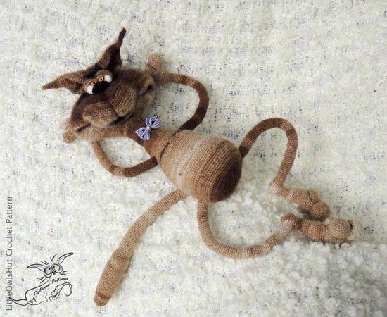 Pink crochet elephant pattern - Amigurumi Today   450x550