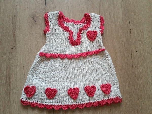 Strickanleitung Kleid Größe 56-104 Baby Love Collection No.1