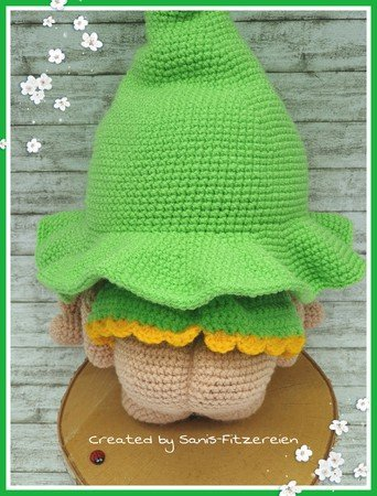 Crochet pattern easter duck amigurumi flower | 450x342