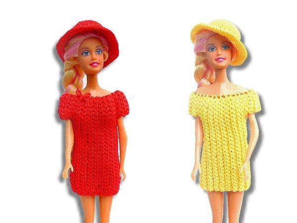 Puppenkleid Häkeln Sommerkleid Puppe 30cm
