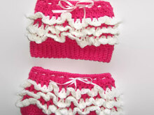 Crochet Baby Doll shorts Pattern