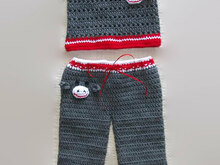Toddler Crochet Pants and Top