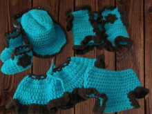 Country & Western Baby Crochet Pattern