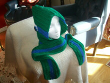 Teen/Adult Hooded Ninja Turtle Scarf