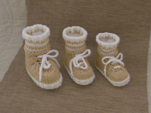 Baby Sneaker Booties & make believe Socks