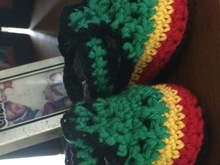 Crochet Baby Rasta Shoes Pattern, 2 Sizes: 0-3 months and 6-9 months, Unisex Pattern, Downloadable, Patterns and Tutorials, Instant Download