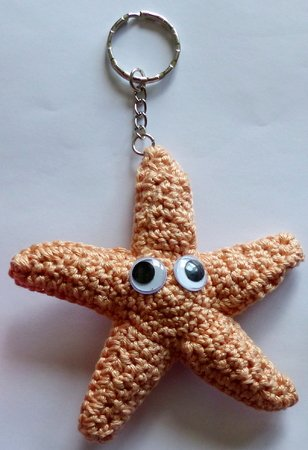 Keychains maritime, Bob-Betty-Brain, Crochet Pattern