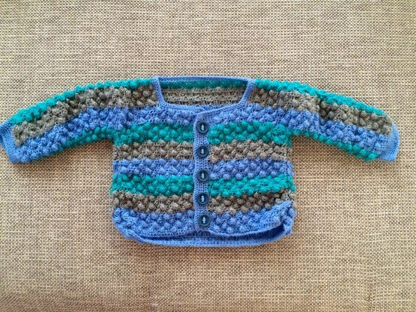 Babyjacke Häkeln Gr 98104 Baby Weste