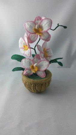 Orchideen Häkeln Topf Blumen Häkeln Deko